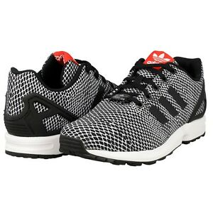 Adidas Torsion ZX Flux S82615 Black White Running Men s Shoes Size 7 ... 83c089740