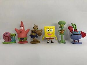 SpongeBob SquarePants Patrick Star Squidward Krabs Gary 8 PCS Action Figure Toy