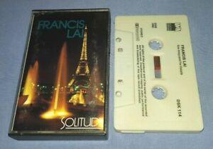 FRANCIS-LAI-SOLITUDE-cassette-tape-album-T8393