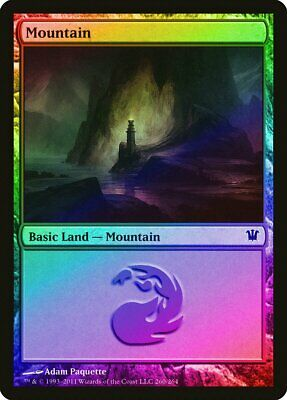 259 FOIL Innistrad NM-M Basic Land MAGIC THE GATHERING CARD ABUGames Mountain