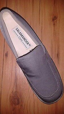 Salamander City Damenschuhe ,Gr. 5 1/2F , Leder aufgeraut WIE NEU
