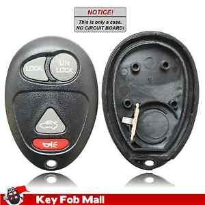 New Key Fob Remote Shell Case For a 2004 Pontiac Aztek w// Trunk