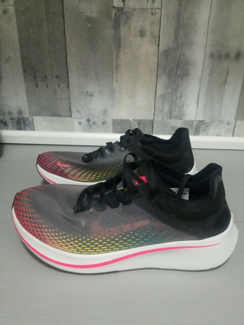 Size 9 - Nike Zoom Fly SP Fast Black
