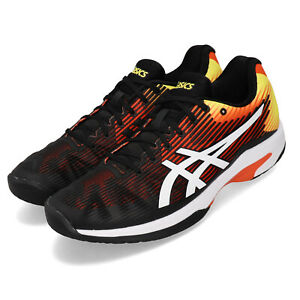 Details about Asics Solution Speed FF Koi Orange Yellow Black Men Tennis Shoes 1041A003 809