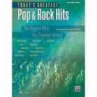 Today's Greatest Pop & Rock Hits  : The Biggest Hits! the Greatest Artists! (Big Note Piano) by Alfred Publishing Co., Inc. (Paperback / softback, 2013)