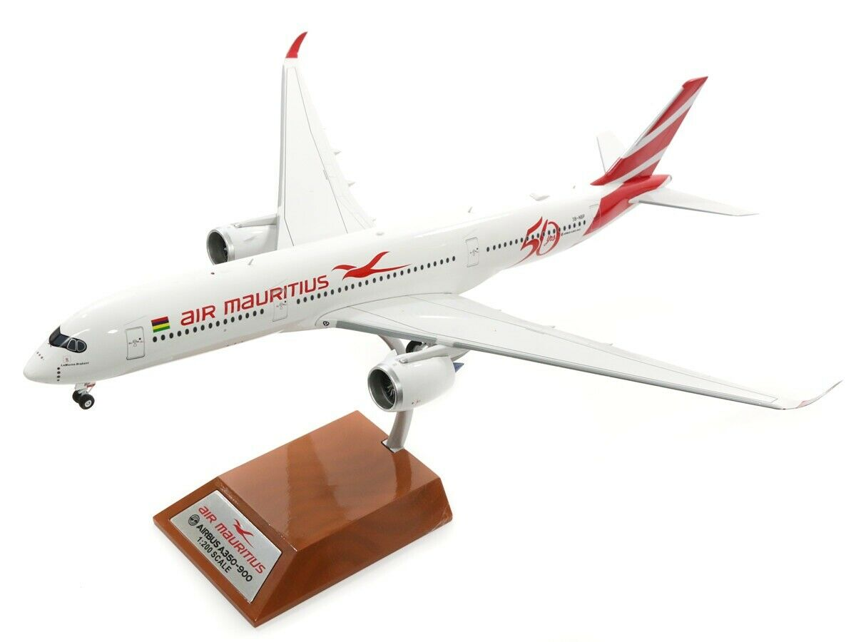 If350mk002 1 200 Luft Mauritius Airbus A350-900 3b-nbp 50tes Anniversary   Stand