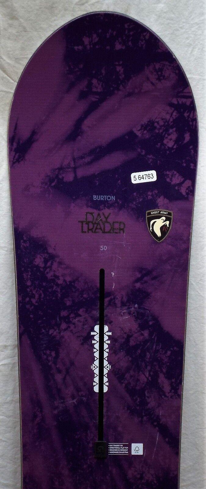 17-18 Burton Day  Trader Used Women's Demo Snowboard Size 150cm  discount