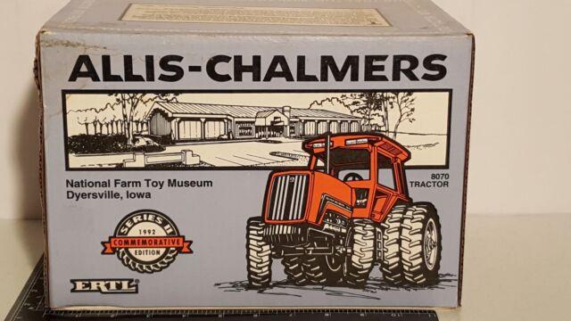 Ertl Allis Chalmers 8070 w/FWA 1/16 diecast metal farm tractor replica
