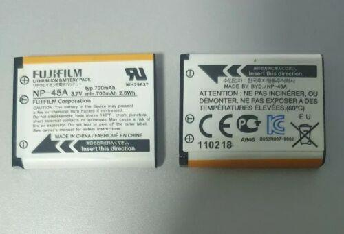 Genuina Original BATERÍA FUJIFILM NP-45A NP-45 para FinePix Z10fd Z20fd Z30fd Z31