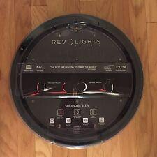 "Revolights Eclipse Bike Lighting System 700c/27"" *front* Headlights White LED's"