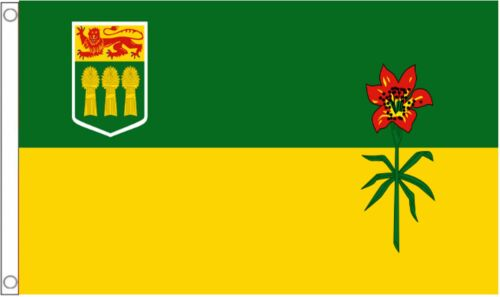 Canada Saskatchewan Province 5/'x3/' Flag