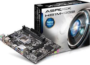 Scheda Madre AsRock H81m-dgs R2.0 per CPU Processore Intel Socket LGA 1150