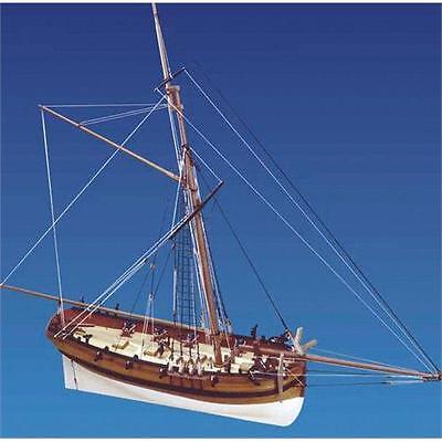 Caldercraft HM Cutter Sherbourne Wooden Ship Kit 9010