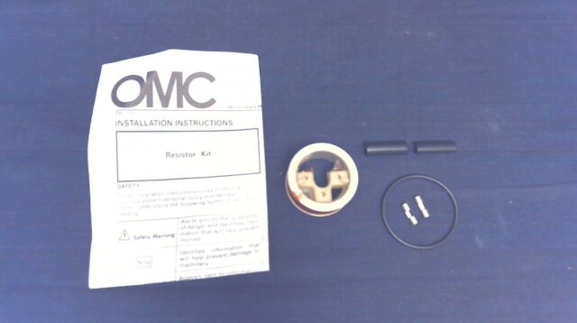 NOS JOHNSON EVINRUDE OMC 398545 RESISTOR KIT