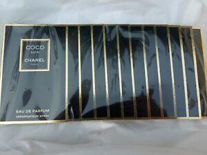 Chanel-Coco-Noir-Eau-de-Parfum-sealed-pack-of-12-samples-x-1-5-ml-NEW