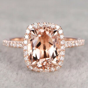 Gorgeous-Rings-for-Women-Wedding-Ring-Rose-Gold-Filled-Jewelry-Crystal-Size-6-10
