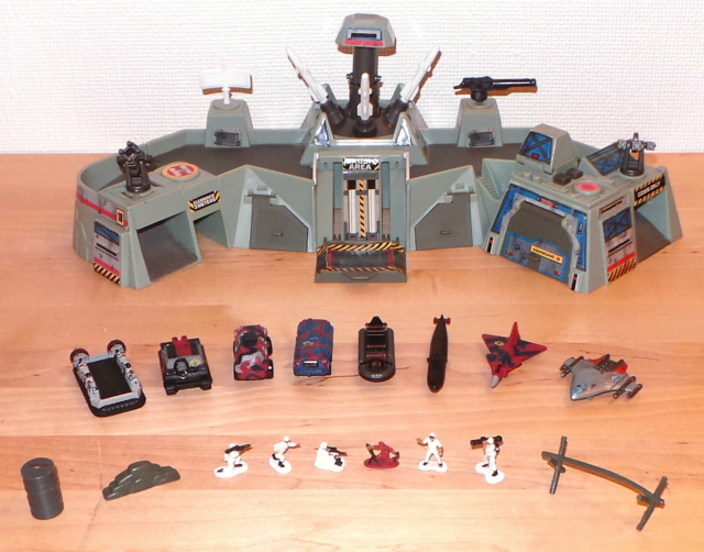 MicroMachines Firestorm Missile Base, 1993, Micro Machines…