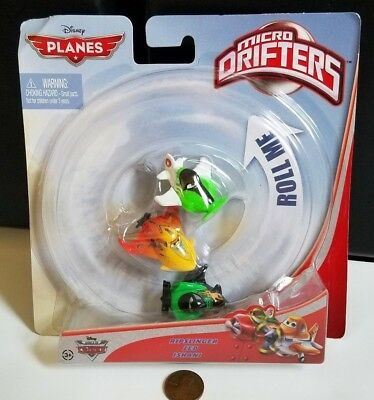 Ripslinger 3-Pack Disney Planes Micro Drifters Ishani and Zed