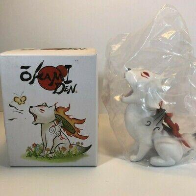 Okamiden Chibiterasu Wolf Vinyl Figure NIB Loot Gaming Crate Exclusive Okami Den