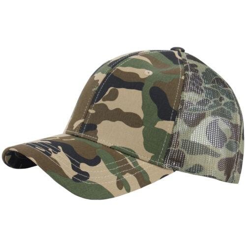 G123 Irish Plain Design Cool Mesh Cap Camo Plus Big Size XL 2XL 3XL Hat Truckers