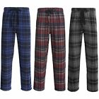 New $29.5 Cold Storage Mens Flannel Pajama Bottoms Sleep Pants - Elastic Waist