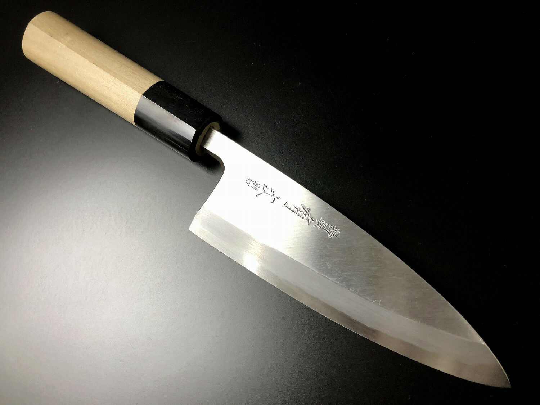 ARITSUGU Deba bleu Steel Filet Cuisine Chef japonais couteau 255 mm 10.03  AT018cs
