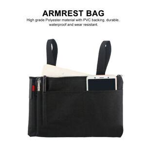 IP64-Waterproof-Armrest-Bag-Durable-Wheelchair-Shopping-Travel-Storage-Bag-Black