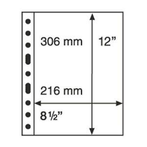 Leuchtturm-Kunststoffhuellen-GRANDE-1er-Einteilung-glasklar
