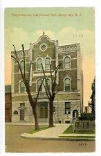 Jersey City NJ - ODD FELLOWS HALL ON BERGEN AVENUE - Postcard