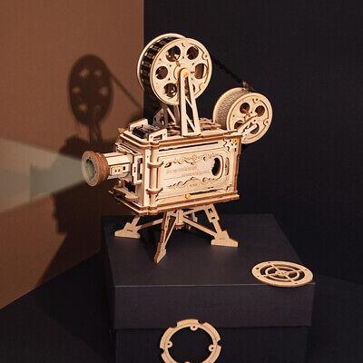Herrlich Robotime 3d Puzzle Diy Holz Vitascope Modellbau Kits Film Projektor Spielzeug Geeignet FüR MäNner, Frauen Und Kinder