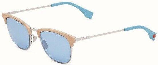 317f89f9243f Fendi Men FDM Ff0228 Sunglasses 0scb Silver Blue 100 Authentic for sale  online