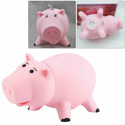Toy Story Hamm Figures Coin Save Money Box Piggy Bank Pink Ham Pig Xmas Gift