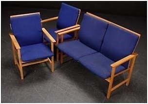 Lænestol, stof, Børge Mogensen