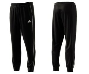 Adidas-Mens-Sweatpants-Core-Training-Tracksuit-Bottoms-Fleece-Joggers-Black
