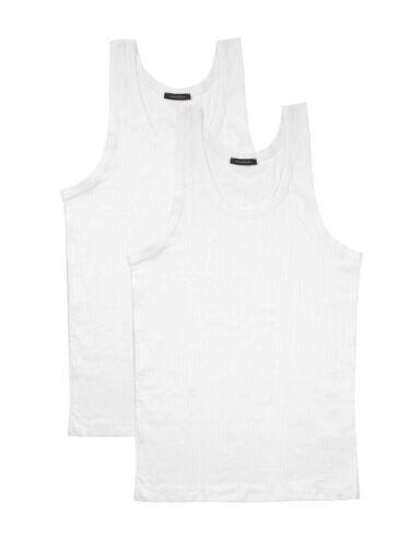 SCHIESSER Herren Achselshirt im Doppelpack Authentic Unterhemd
