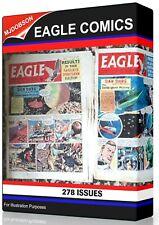 Eagle Comic - 278 issues plus Bonus Items inc View Software DOWNLOAD