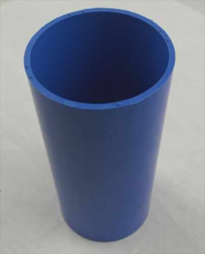 Rigid plastic candle mould church candle 100mm x 60mm
