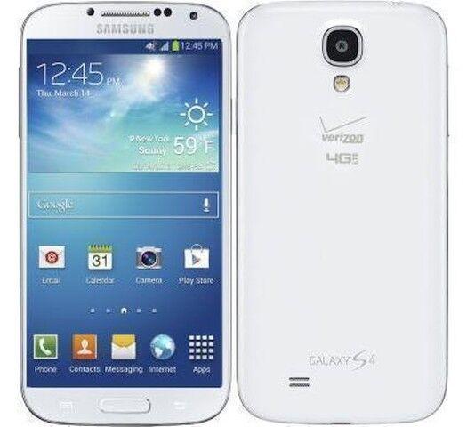New Samsung Galaxy S4 16GB White 4G(Verizon Wireless)(Page Plus) i545 Cell Phone