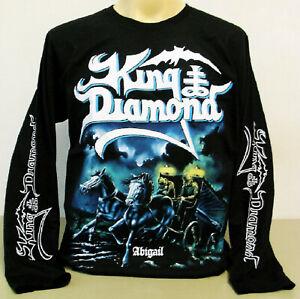 King Diamond Abigail Men/'s Long Sleeve Black T-Shirt Size S to 3XL