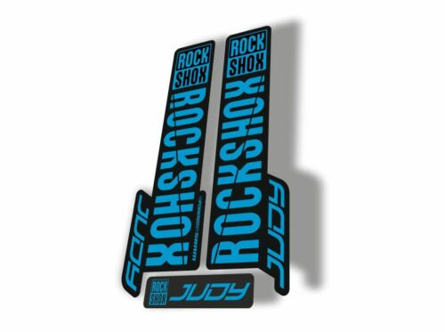 Rock Shox JUDY 2018 Fork Decal Mountain Bike Cycling Sticker Adhesive Blue