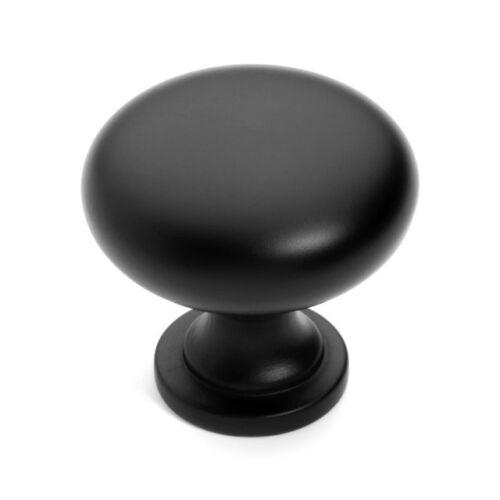Flat Black Cabinet Hardware Knobs /& Pulls 3910