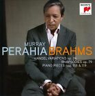 Brahms: Handel Variations Op. 24; Rhapsodies Op. 79; Piano Pieces Opp. 118 & 119 (CD, Nov-2010, Sony Classical)