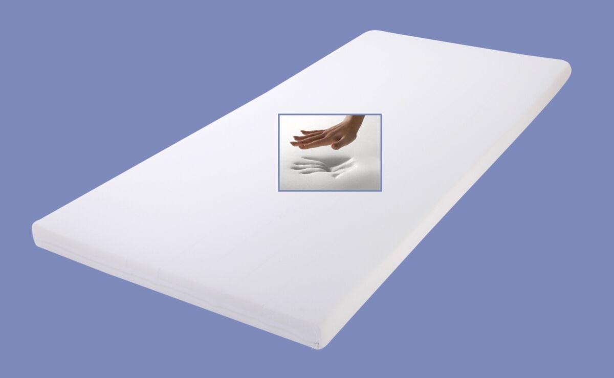 Viscoelastische Matratzenauflage Höhe 4   5   7 cm weiche Auflage für Matratze