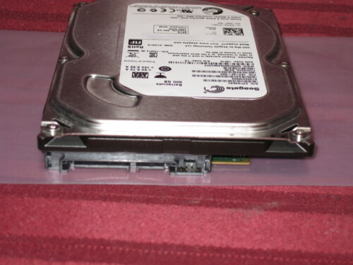 With MacOS 10.12 Sierra Apple 2007-2011 iMac 500 GB 7200 RPM Hard Drive