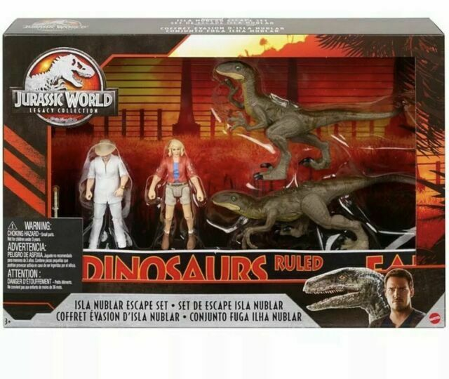 New in Box Mattel Jurassic World Legacy Collection Isla Nubl