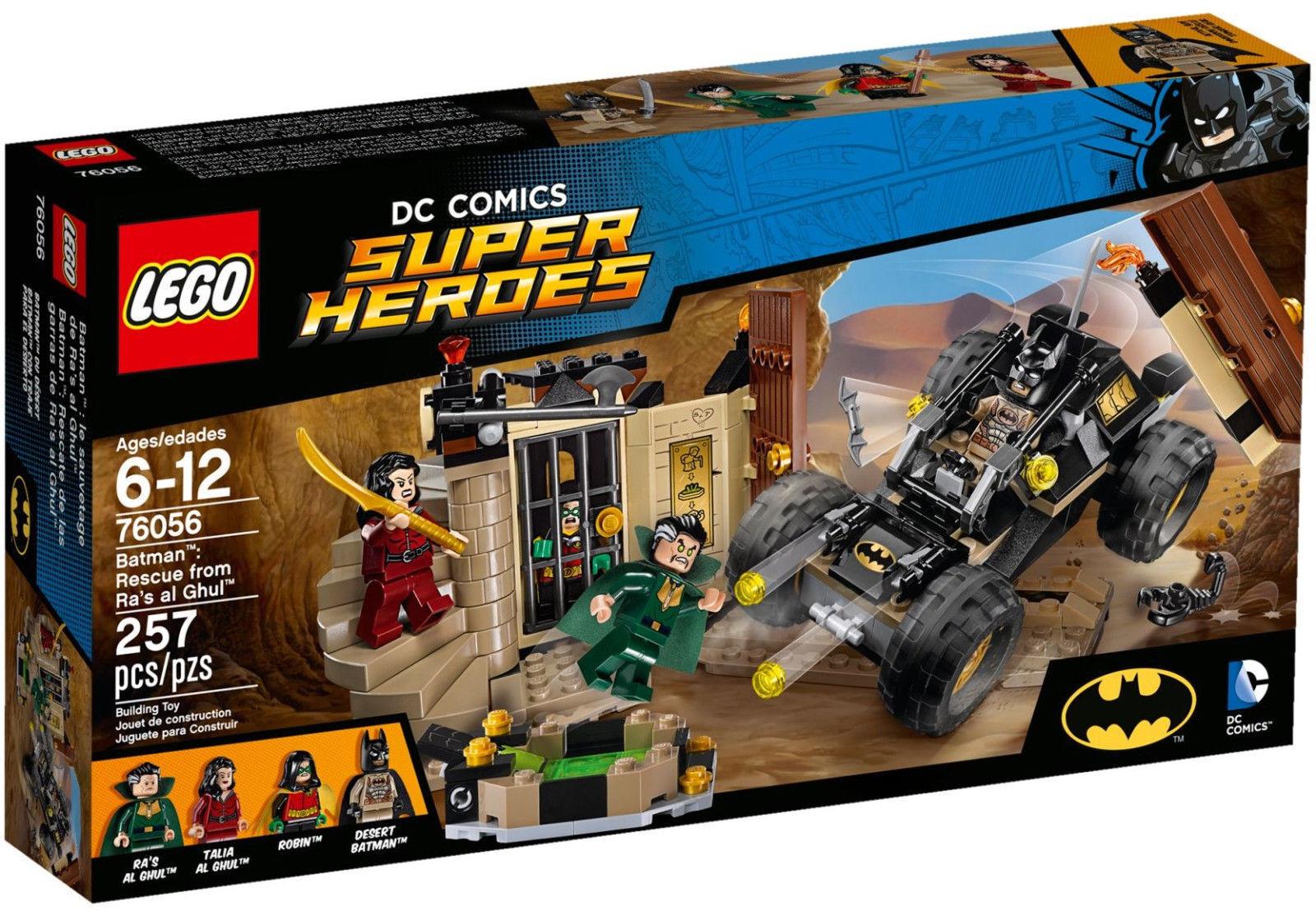 LEGO ® DC Comics ™ Super Heroes 76056  Batman ™  RA 'S AL GHUL ™ VENGEANCE  RAR Neuf Neuf dans sa boîte