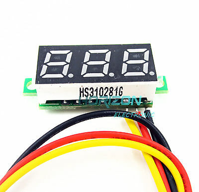 "1PCS 0.28"" LED DC  0-100V Digital Voltmeter Panel Meter Green COLOR"