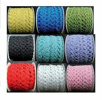 RIC RAC BRAID - 3mm WIDTH  x 3 metres 9 colourways to choose from