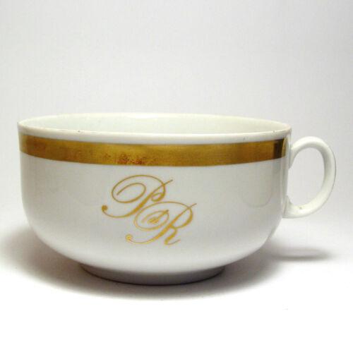 Palast der Republik mit Goldrand Tasse für Suppe Milchkaffee Original PdR