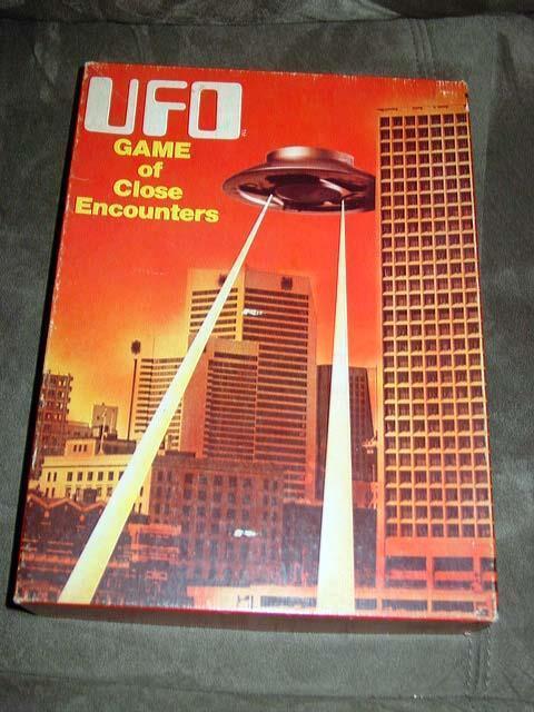 Avalon Hill 1978-Ovni el juego de encuentros cercanos-no Estamos Solos-Alien 's
